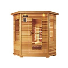 Health Mate Two-Person Corner Sauna